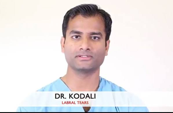 Dr Kodali talks about Labral Tears of Shoulder